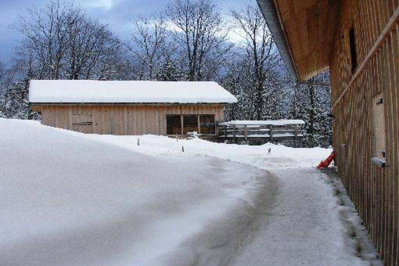 Location de vacances - Chalet à Saint-Bernard