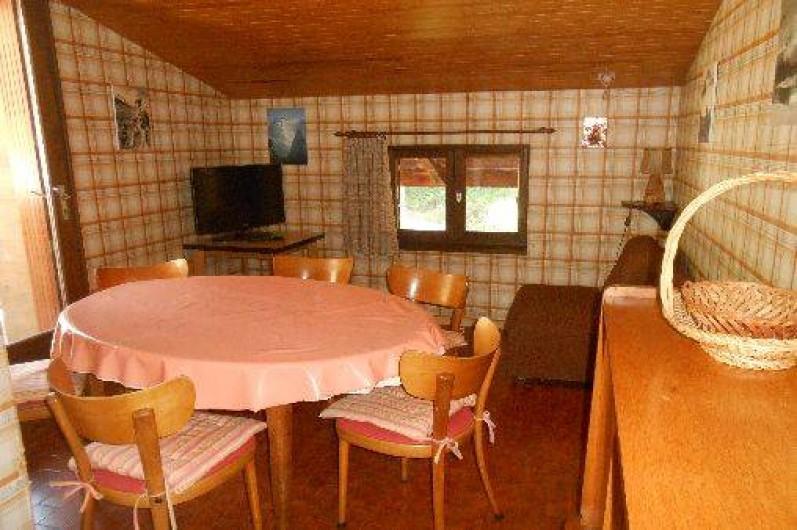 Location de vacances - Appartement à Pralognan-la-Vanoise - la salle à manger