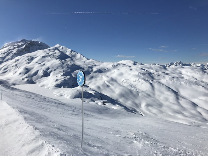 Location de vacances - Appartement à Saint-Sorlin-d'Arves - Haut du domaine à 2620 m