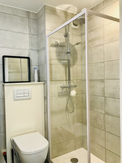 Location de vacances - Appartement à Saint-Sorlin-d'Arves - SDE suite parentale avec également WC indépendant