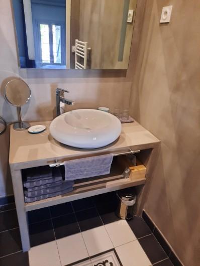 Location de vacances - Appartement à Montagnac - La salle d'eau