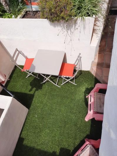 Location de vacances - Appartement à Montagnac - vue de la terrasse