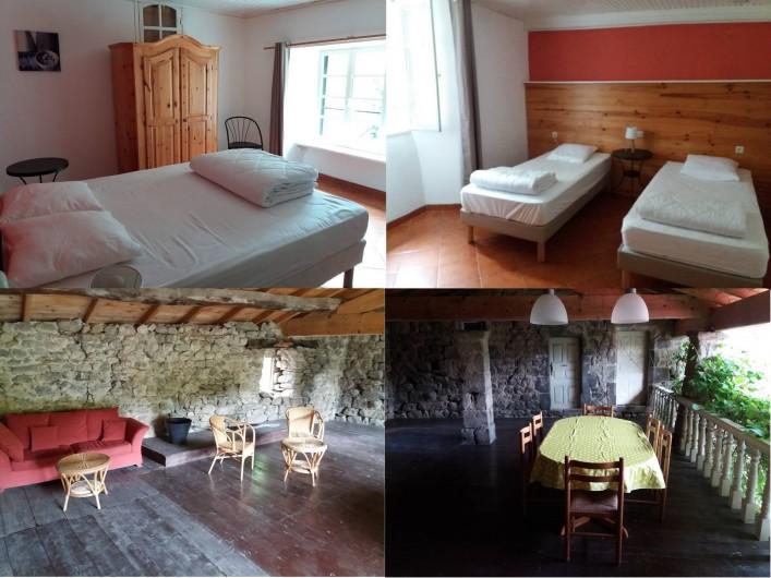 Location de vacances - Gîte à Valgorge - Le Verger ( 2 chambres+canapé convertible et sa spacieuse mezzanine)
