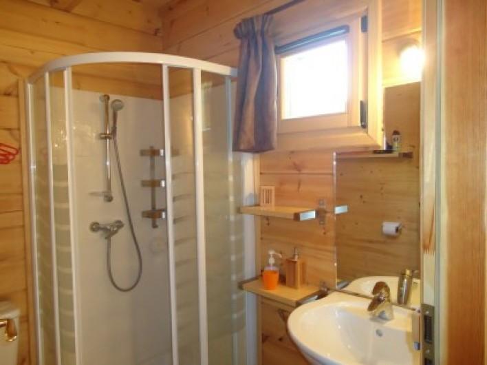Location de vacances - Chalet à La Joue du Loup - Chalet Céline - Salle d'eau