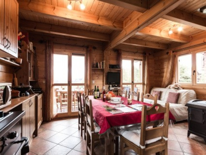 Location de vacances - Chalet à La Joue du Loup - Chalet Sylvaine - Pièce à vivre
