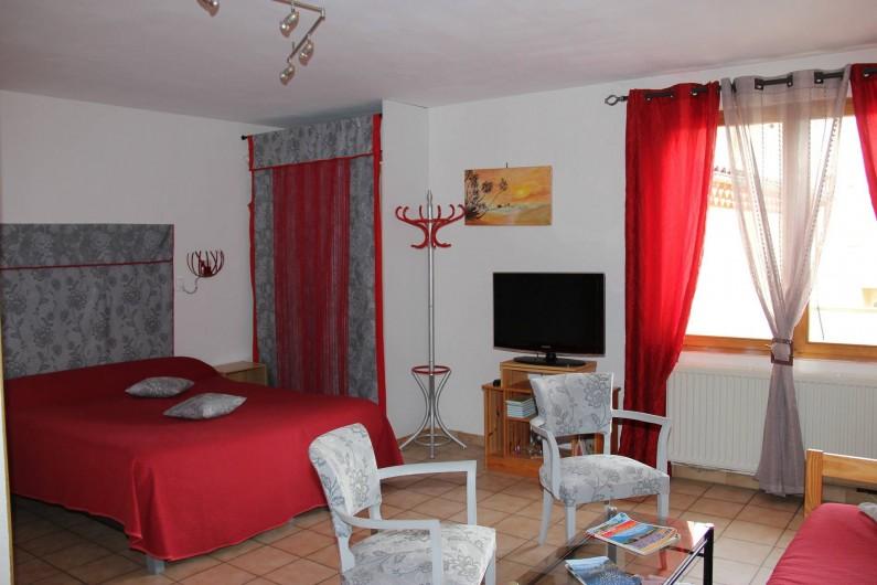 Location de vacances - Chambre d'hôtes à Étoile-sur-Rhône - chambre familiale
