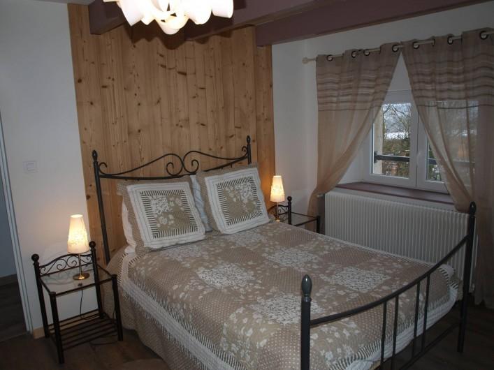Location de vacances - Gîte à Corcieux - La chambre de SO à l'étage