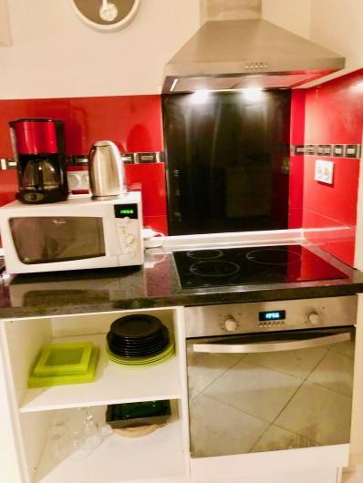 Location de vacances - Appartement à Monaco-Ville - coin cuisine ouverte