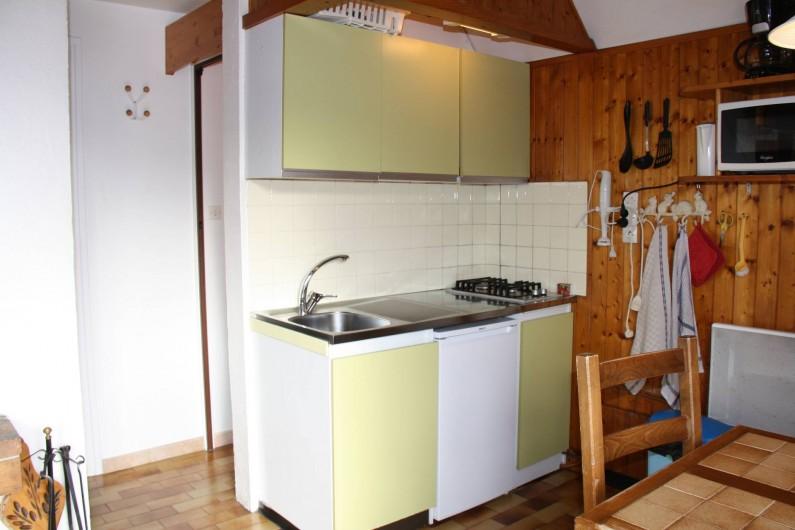 Location de vacances - Chalet à Saint-Hilaire - coin cuisine