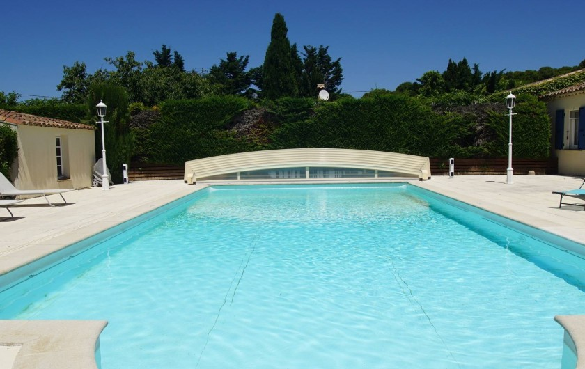 Location de vacances - Chambre d'hôtes à Vedène - La piscine au sel