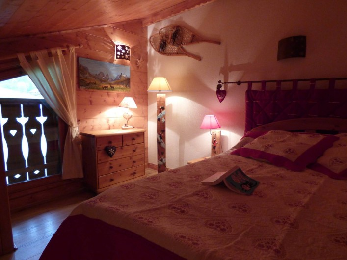 Location de vacances - Appartement à Pralognan-la-Vanoise - La mezannine, vous y dormirez comme chez vous