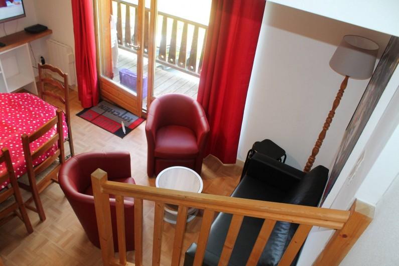 Location de vacances - Appartement à Saint-Sorlin-d'Arves - coin salon