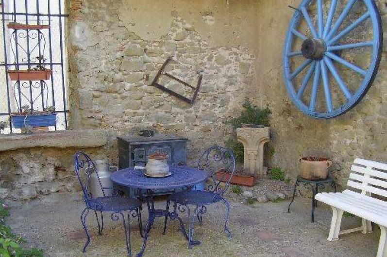 Location de vacances - Gîte à Carcassonne - 2ème COUR