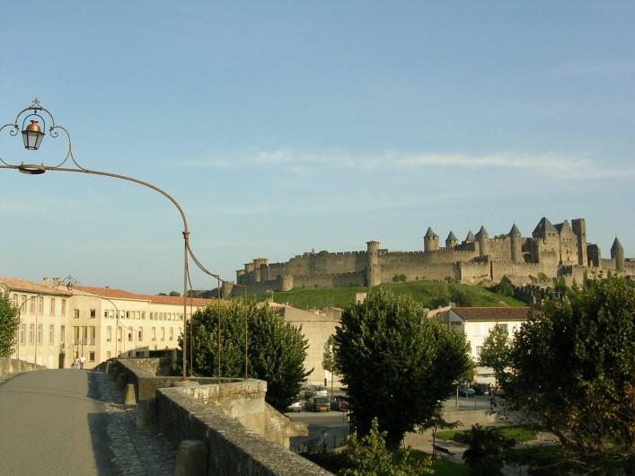 Location de vacances - Gîte à Carcassonne - du pont vieux   LA  CITEE