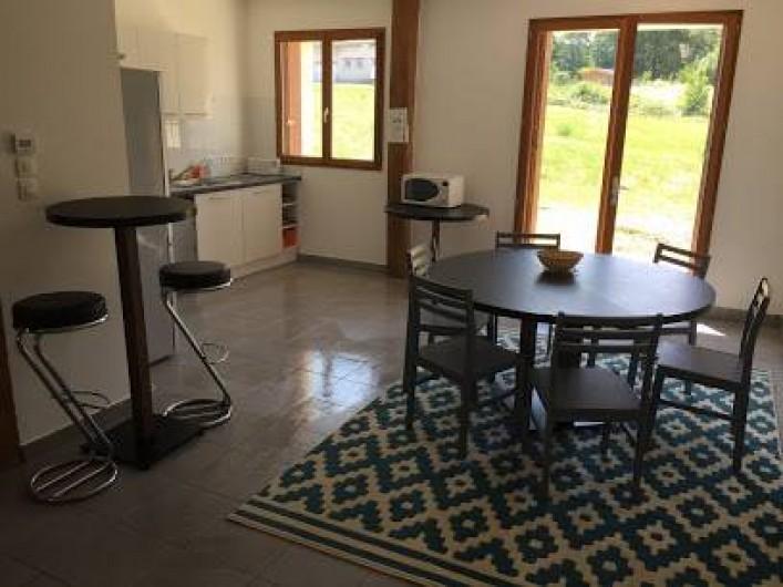 Location de vacances - Maison - Villa à Souvigny-de-Touraine - Salle à manger