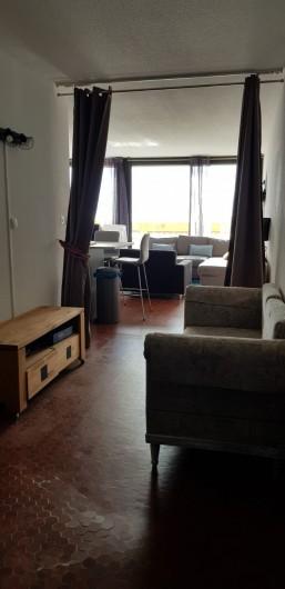 Location de vacances - Appartement à Le Barcarès - vue sur la pièce principale