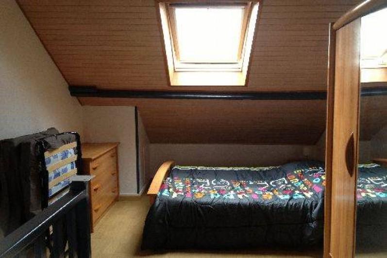 Location de vacances - Appartement à Fort-Mahon-Plage - Chambre étage 3 couchages