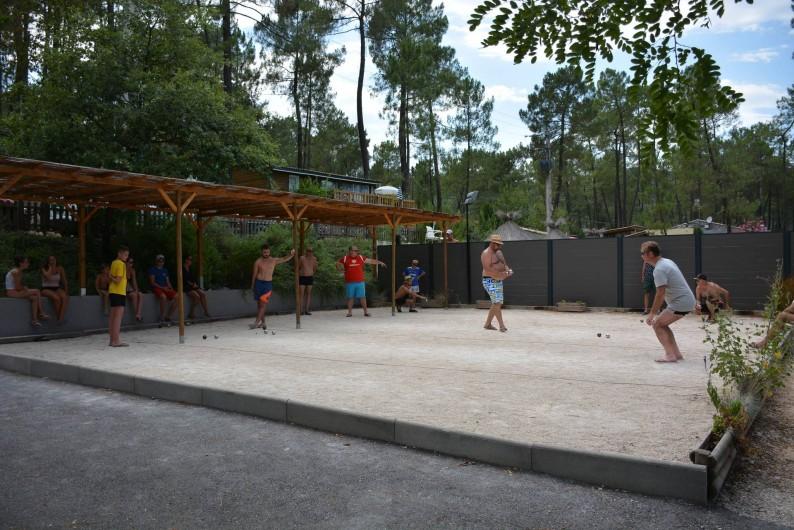 Location de vacances - Camping à Joyeuse - Concours pétanque