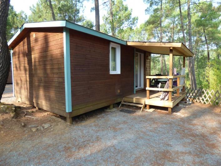 Location de vacances - Camping à Joyeuse - Chalet Bruyère