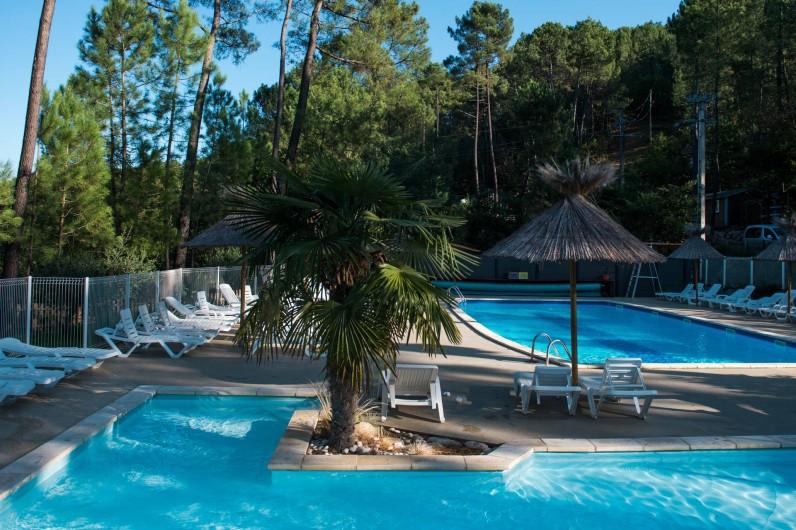 Location de vacances - Camping à Joyeuse - Nos piscines chauffées