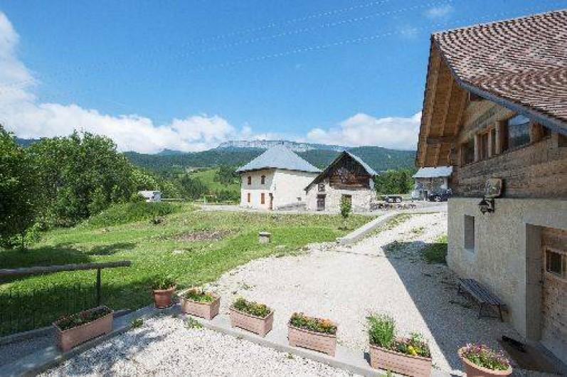 Location de vacances - Chalet à Entremont-le-Vieux