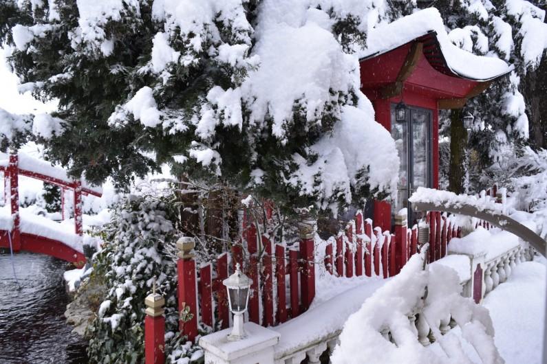 Location de vacances - Villa à Pierre-Châtel - l'hiver sur le bassin
