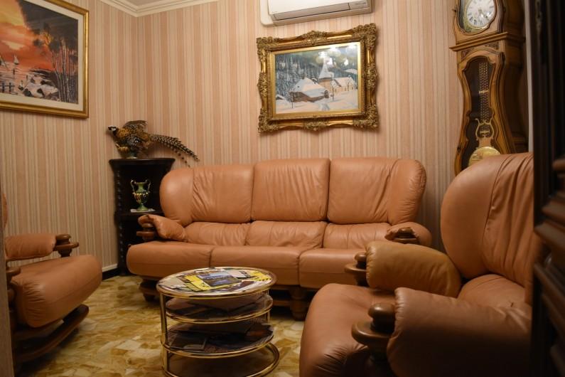 Location de vacances - Villa à Pierre-Châtel - Salon