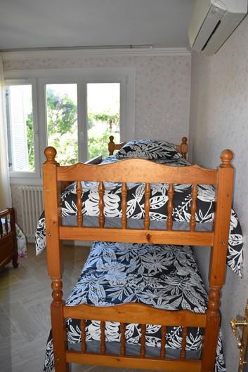 Location de vacances - Villa à Pierre-Châtel - Chambre n° 2 avec lits superposés