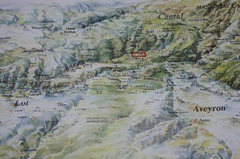 Location de vacances - Gîte à Le Trioulou - au croisement des départements: Cantal, Lot et Aveyron