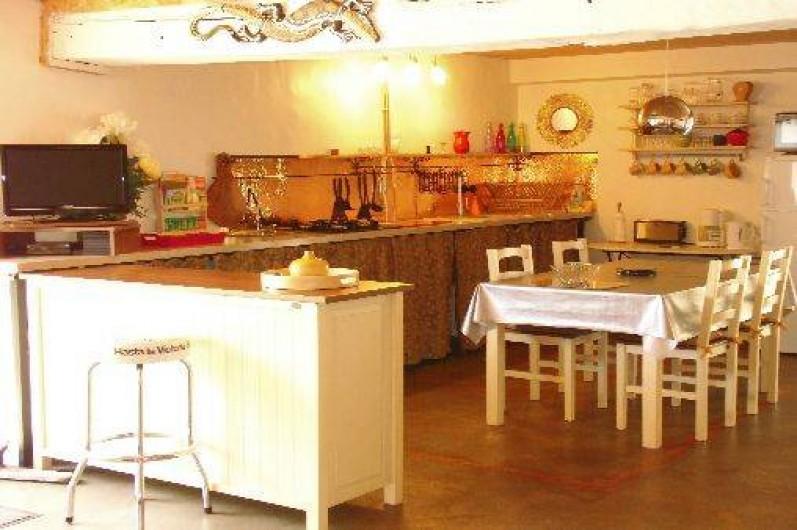 Location de vacances - Gîte à Le Trioulou - cuisine américaine