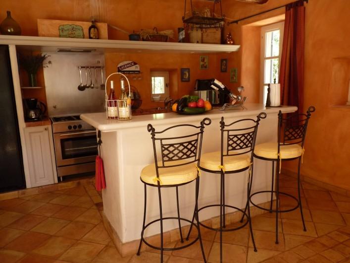 Location de vacances - Mas à Saint-Restitut - On boit un verre ?