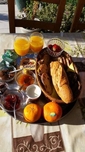 Location de vacances - Gîte à Rieux-en-Val - Petit déjeuner mis à disposition (en supplément)
