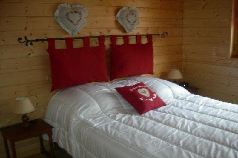 Location de vacances - Chalet à Les Rouges-Eaux - CHAMBRE PARENTALE