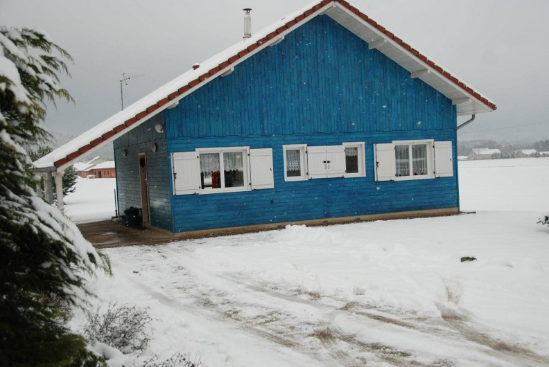 Location de vacances - Chalet à Saint-Léonard - Façade Est, côté rue