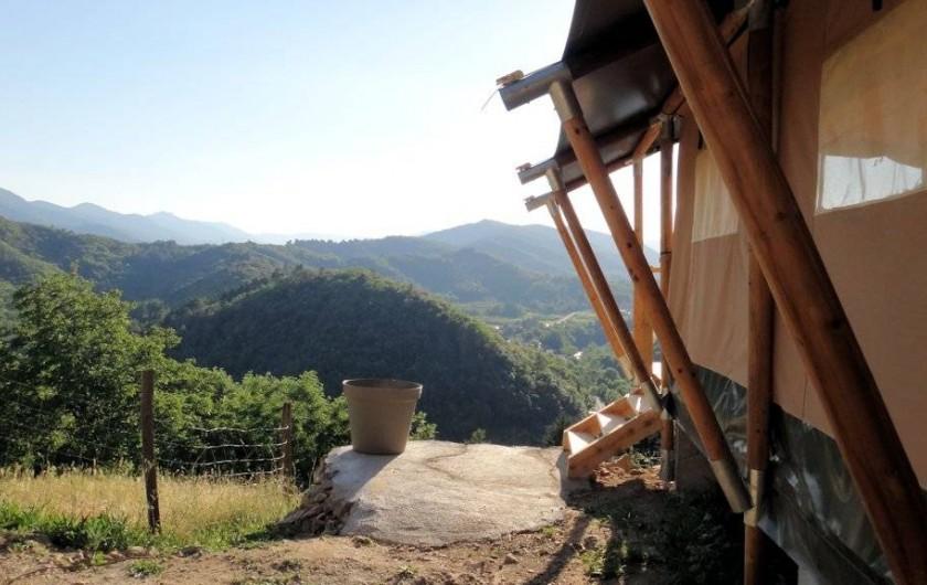 Location de vacances - Gîte à Chirols - La vue