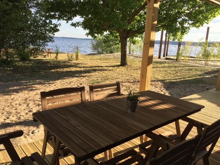 Location de vacances - Appartement à Biscarrosse - Appartement LATECOERE au pied du Lac