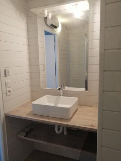 Location de vacances - Gîte à Torreilles - La salle d'eau