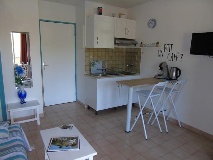 Location de vacances - Studio à Sanary-sur-Mer - Coin cuisine
