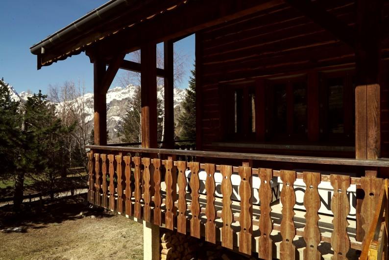 Location de vacances - Chalet à Les Deux Alpes - TERRASSE