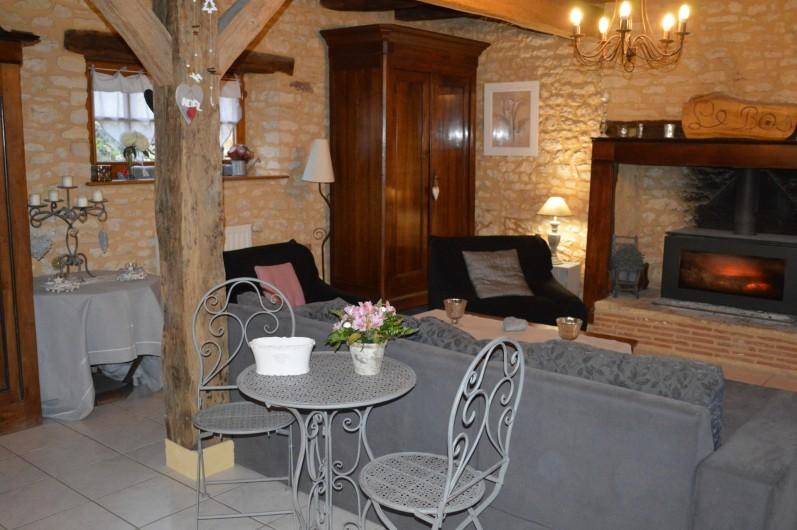 Location de vacances - Gîte à Pezuls - salon