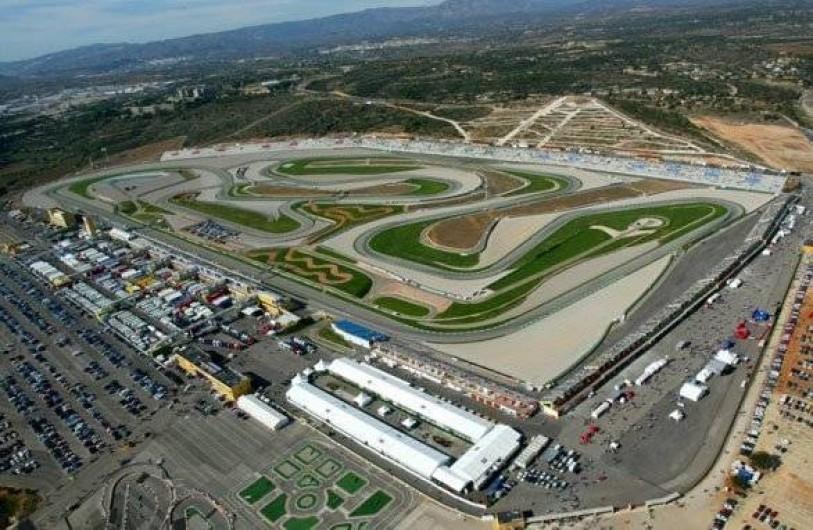Location de vacances - Appartement à Valence - le circuit de moto Ricardo Tormo