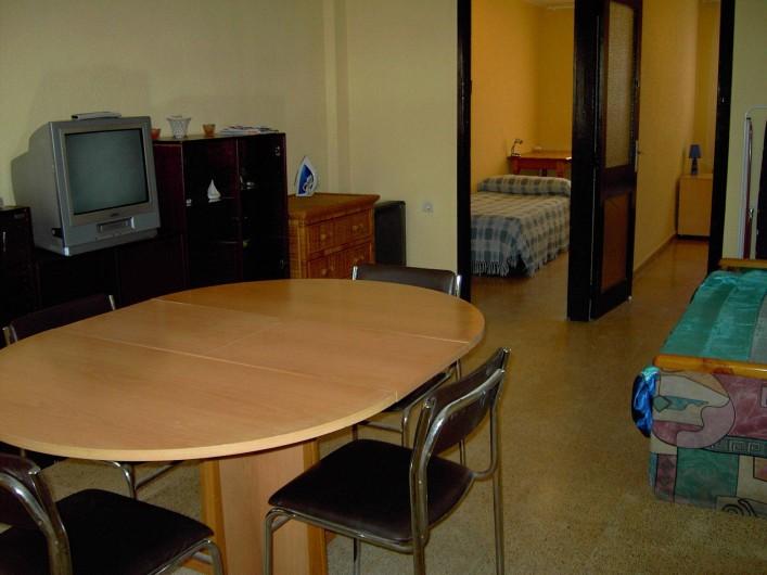 Location de vacances - Appartement à Valence - salle à manger/salon
