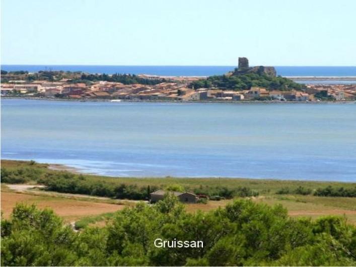 Location de vacances - Mas à Narbonne - Gruissan village