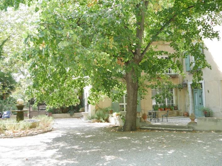 Location de vacances - Mas à Narbonne - Entrée Domaine