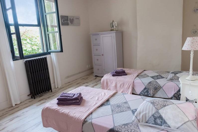 Location de vacances - Mas à Vauvert - Chambre enfants 2 lits en 90 cm