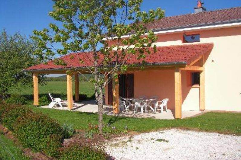 Location de vacances - Chalet à Le Clerjus - coté est
