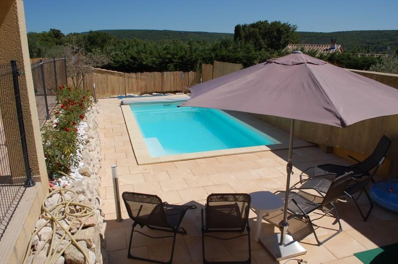 Location de vacances - Villa à Les Granges-Gontardes - Piscine 2
