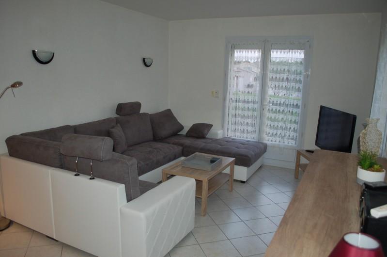 Location de vacances - Villa à Les Granges-Gontardes - Salon