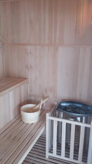 Location de vacances - Gîte à Huillé - Sauna