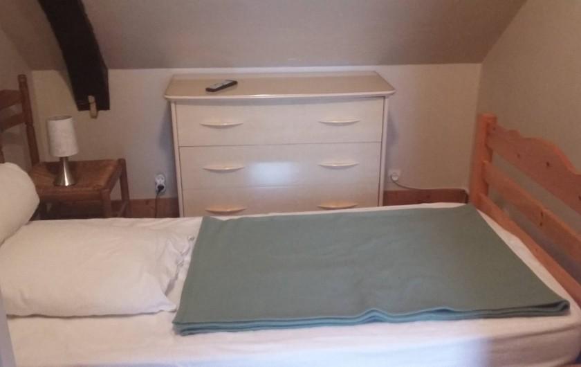 Location de vacances - Gîte à Huillé - Chambre pour 1 personne